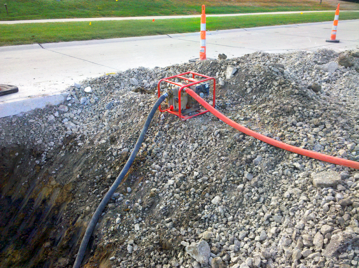 SANITARY SEWER REPAIR: HIAWATHA, IA