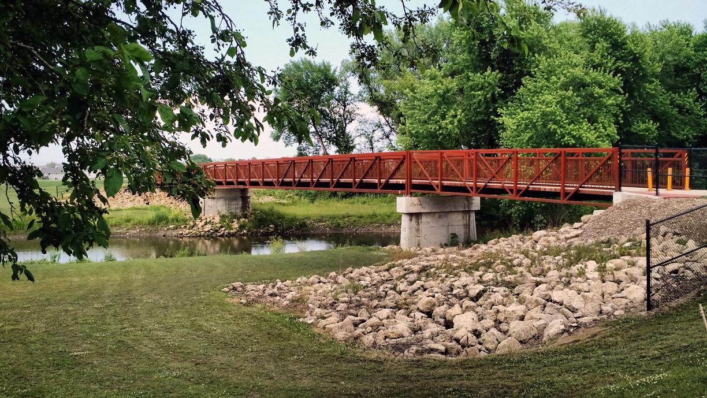 Fairfax Pedestrian Bridge