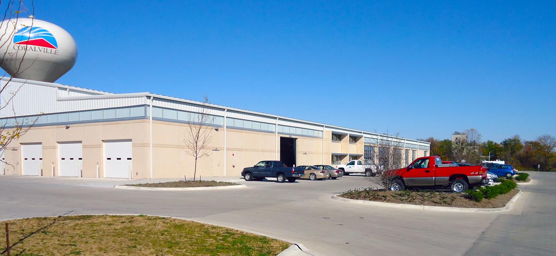 Coralville Tranist & Parks Buildings- Coralville, Iowa
