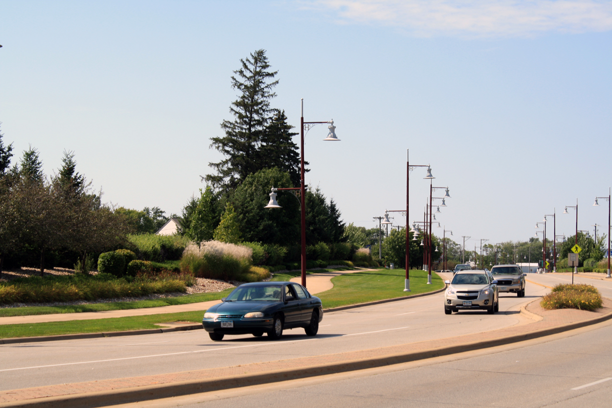 North Center Point Rd. Streetscape- Hiawatha, IA