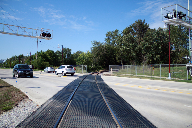New Railroad Crossing - Hiawatha, IA