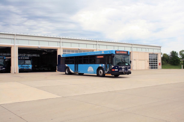 Coralville Public Bus- Coralville, Iowa