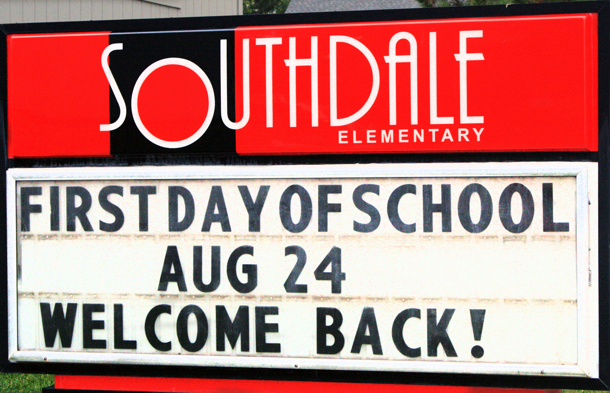 SOUTHDALE ELEMENTARY SIGNAGE