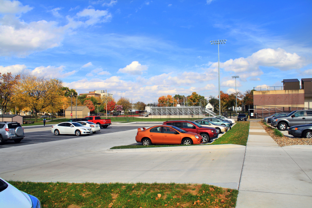 Coe College Parking Improvements